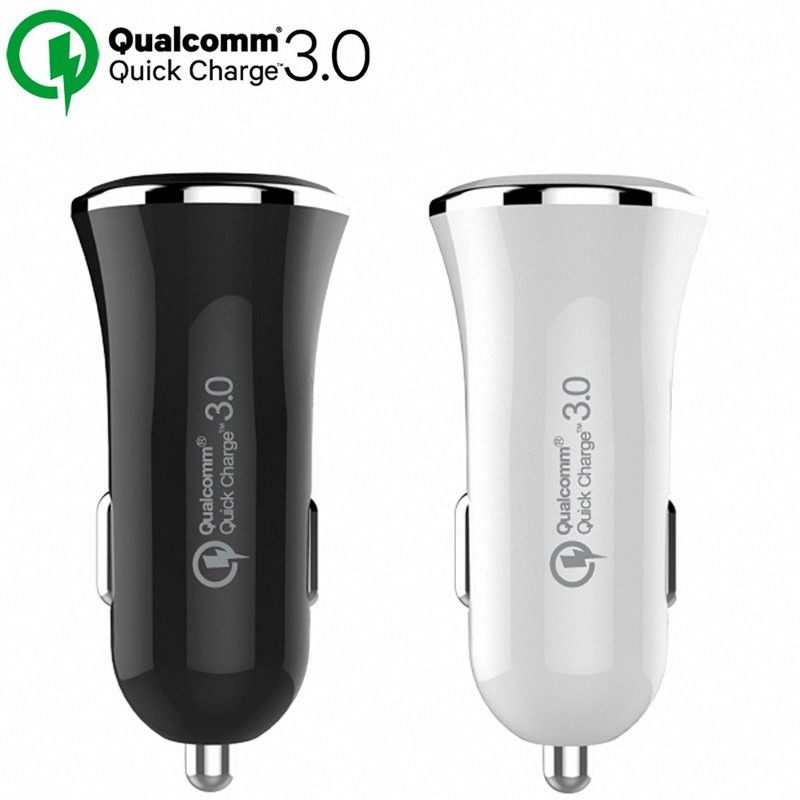 [Qualcomm Quick Charge 3.0 Charger] QC 3.0 5V 9V 12V Car Charge Fast Charger For Samsung Note 4 5 S7 S6 Edge HTC XiaoMi Mi5 Sony (5)