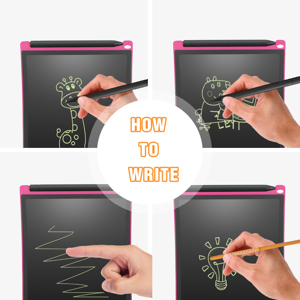 NEWYES zeleni LCD pisanje tableta 8.5 inčni elektronički crtež - Prijenosni audio i video - Foto 4