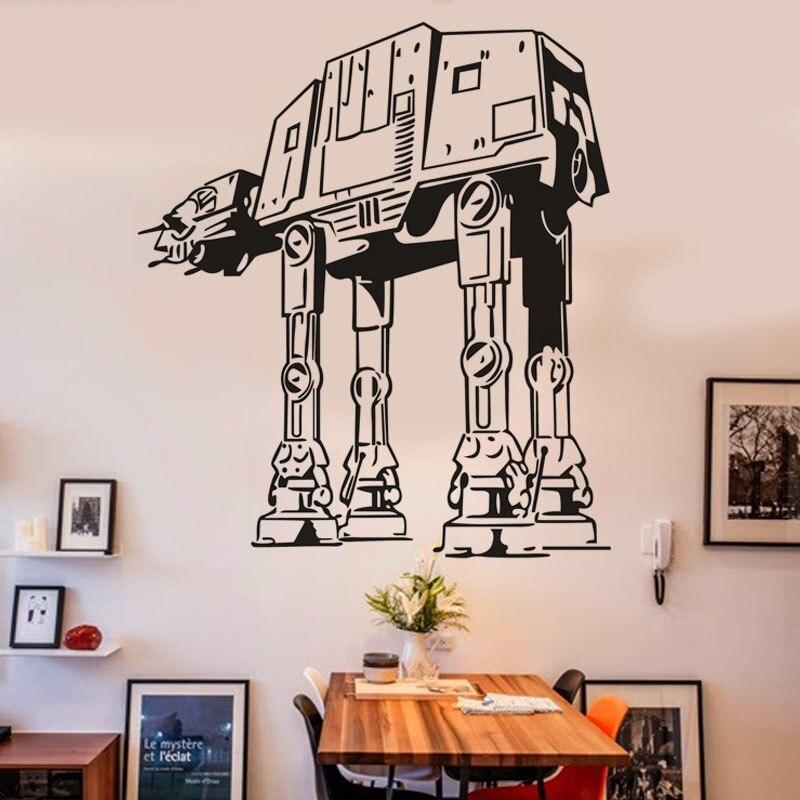 Buy Diy Star Wars Black Wall Sticker Home