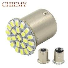 цена 1pcs Super Bright 1156 1157 P21/5W BAY15D 22 LED SMD P21W BA15S Bulb Car Auto Rear Turn Signal Lights Parking Lamp Bulb DC 12V онлайн в 2017 году
