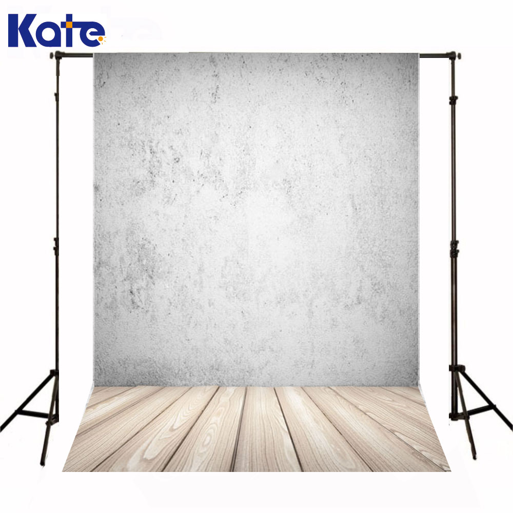 Kate Newborn Baby Backdrops Photography Rough Gray Wall Backgrounds  Wood Texture Floor Backdrops For Photo Studio  недорого