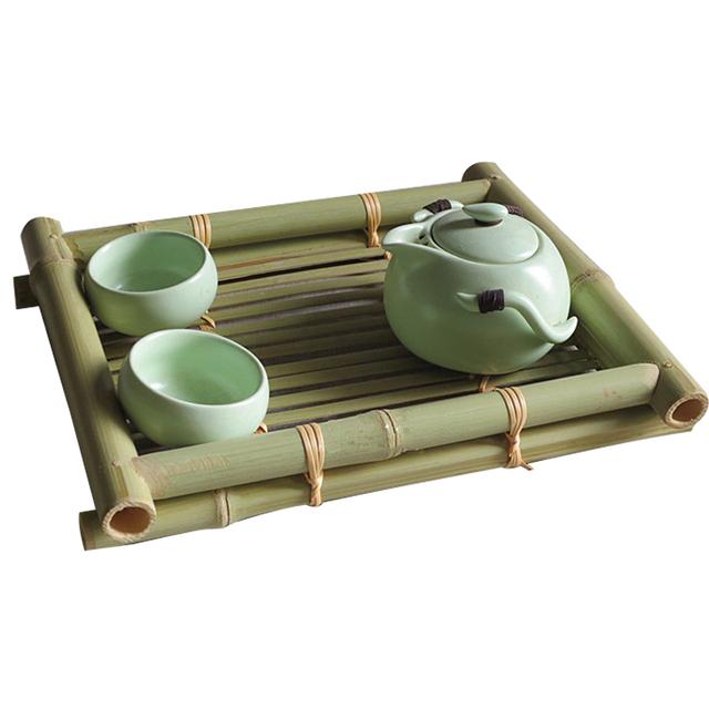 Classic Bamboo Tea Tray