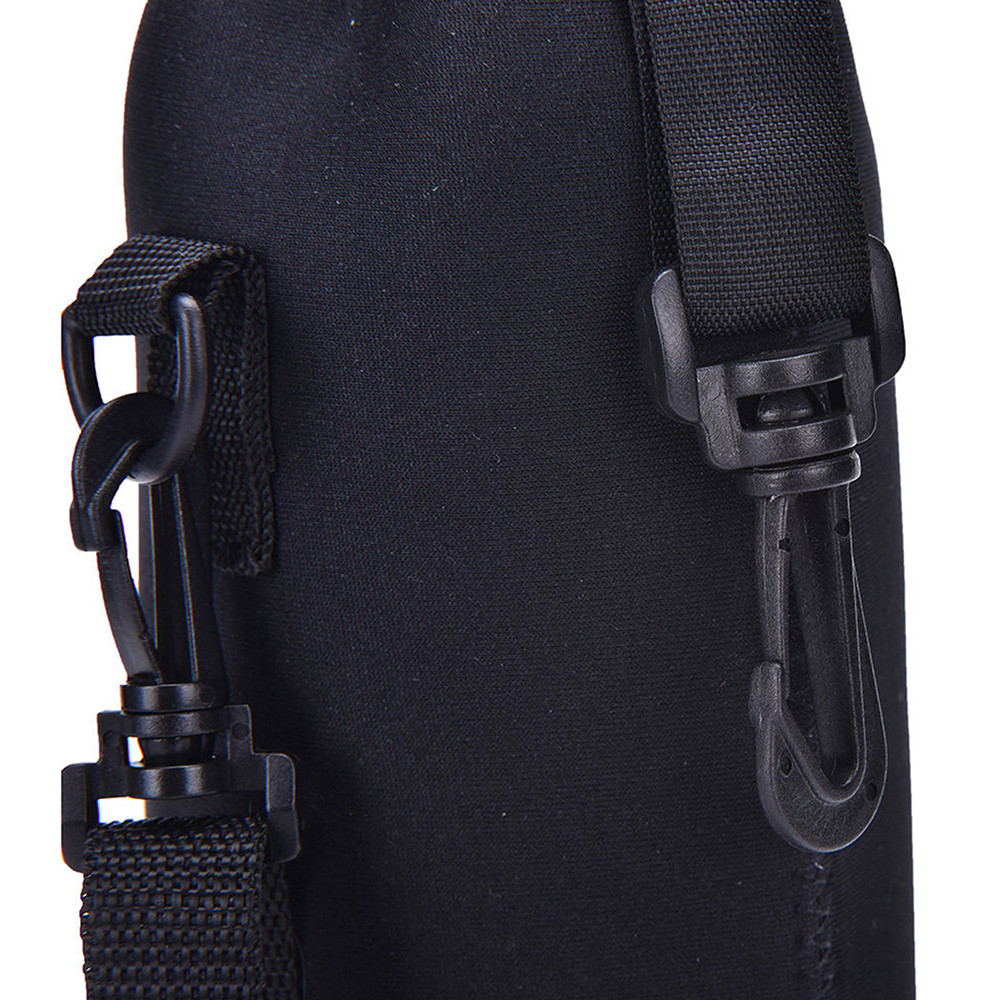1L//1000ML Water Bottle Carrier Insulated Cover Bag Holder Strap Pouch Outdoor XR