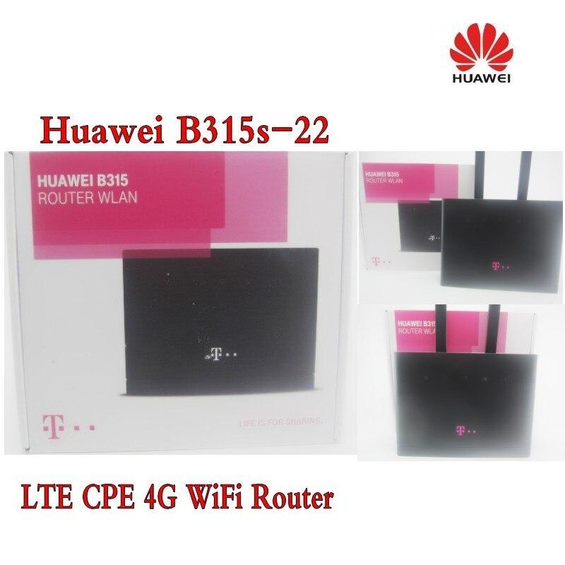 Huawei b315s-22 (t логотип) 4 г LTE 150 Мбит FDD TDD Беспроводной шлюз