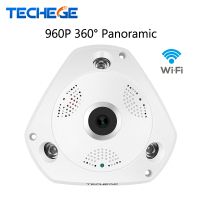 2017 Mini VR IP Camera Wireless 960P HD Smart 360 Degree Panoramic Network CCTV Security Camera