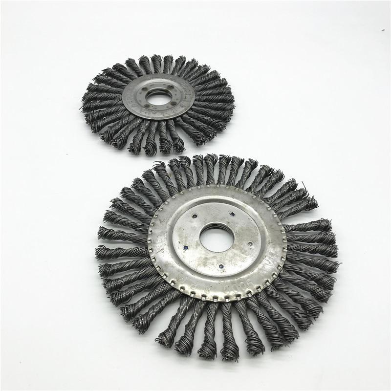 125mm 150mm Flat Twisted Wire Brush Round Wire Twisted Brush Twisted Wire Twisted Wheel Hole 22mm