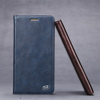 Phone Case For Huawei Mate 9 Fierre Shann Business Simple Style Luxury Leather Flip Cover Cases