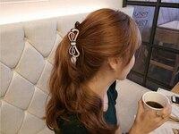 Yüksek Kaliteli Akrilik kadın Moda Mini Kristal Rhinestones Kelebek Saç Pençeleri Parlak Saç Klip