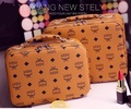 Cosmetic Bag Korean Brand Make-Up Tools Box Portable Large-Capacity  Fashion Letter Printted Cosmetic Case