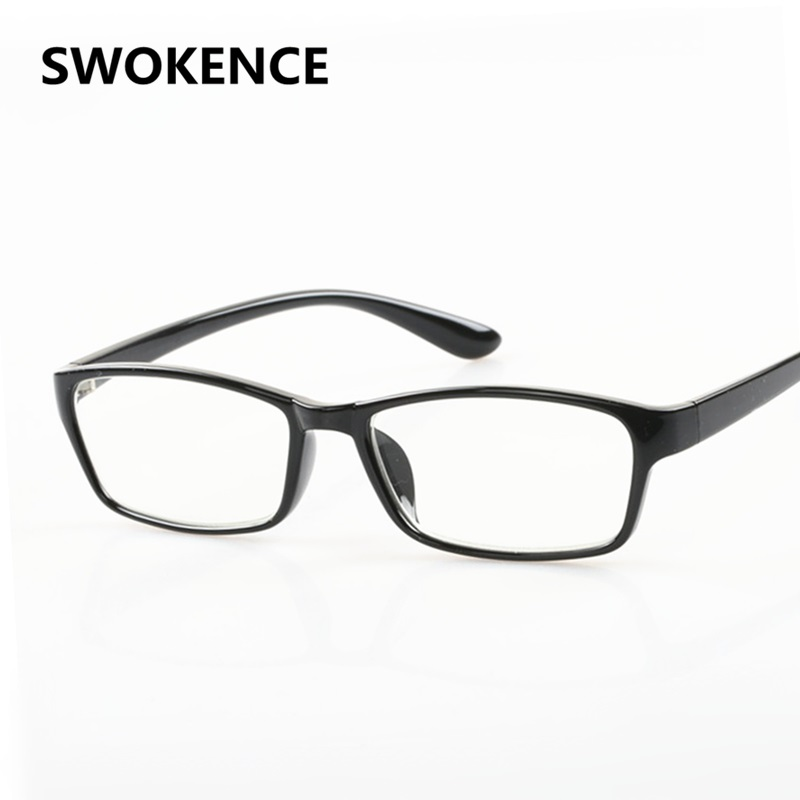 SWOKENCE TR90 Frame Reading Glasses Presbyopic Glasses Diopter +100 to 400 450 500 550 600 650 700 750 800 850 900 950 1000 R130