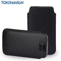 TOKOHANSUN 13 couleur 1 pièces PU cuir tirer languette étui pochette pour nokia E72 515 301 3310 couverture étui de téléphone portable TOKOHANSUN marque