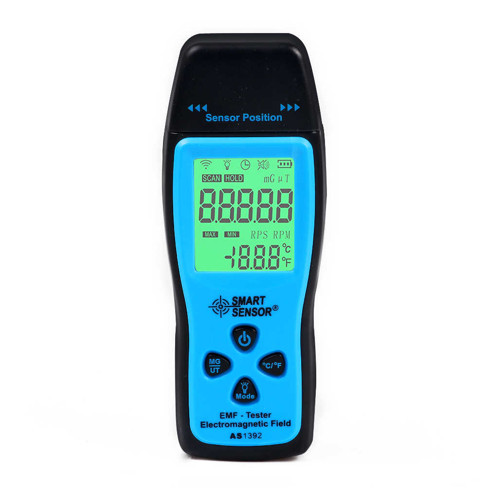 New LCD Digital Electromagnetic Radiation Detector EMF Meter Tester Excellent
