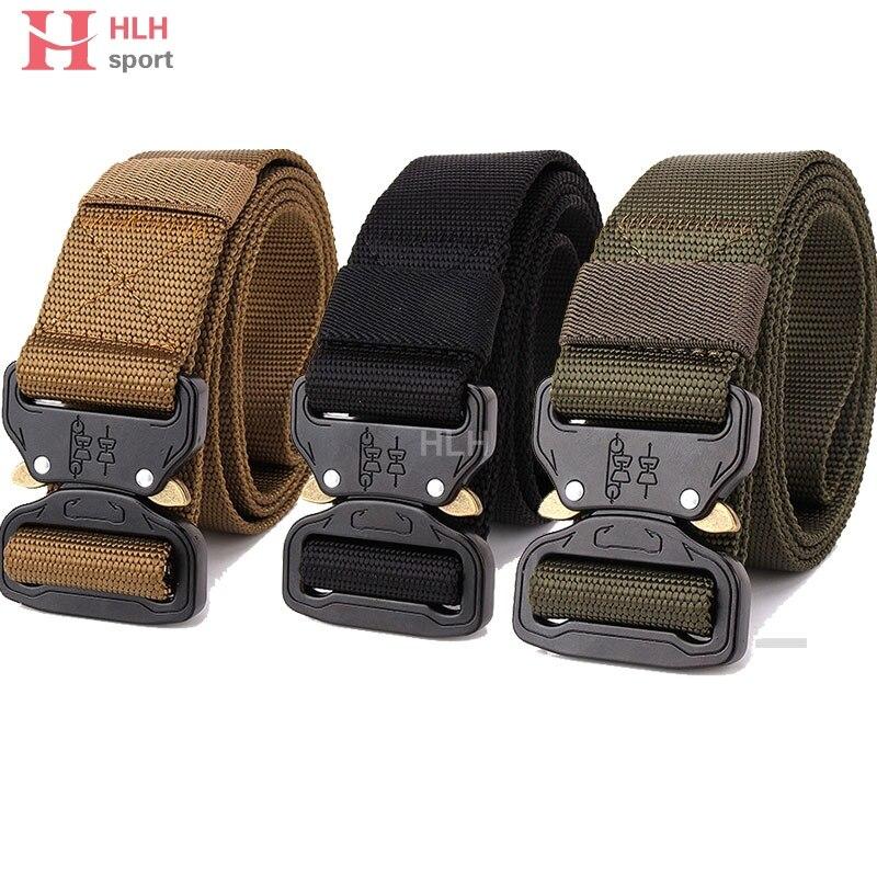 Tactical Gear Heavy Duty Belt Cobra Nylon Fibbia In Metallo Swat Molle Padded Patrol Cintura Tattica di Caccia Accessori