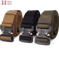 Tactical Gear Heavy Duty Belt Cobra Nylon Metal Buckle Swat Molle Padded Patrol Waist Belt Tactical Hunting Accessories