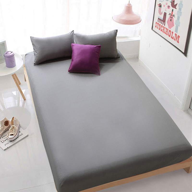 Polyester Fitted Sheet Printing Cotton Bed Sheets Comfort Mattress Cover Bedding Linens Bed Coverlet Set Full Twin Queen