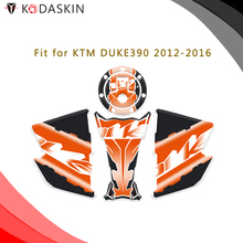 цена KODASKIN Motorcycle Gas Cap Tank Pad Sticker Decal Emblem for KTM DUKE390 2012-2016 онлайн в 2017 году