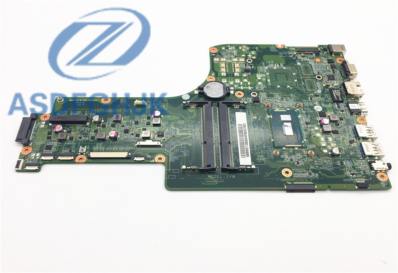 laptop motherboard DA0ZYWMB6E0 REV E for font b acer b font for aspire E5 771G motherboard