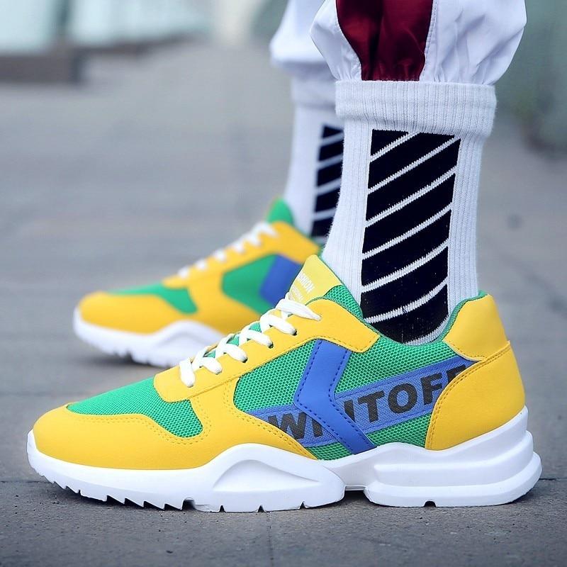 Hombre Zapatos amarillo Transpirable Aire blanco Boosts Ultra Negro Blanco Huaraching Casual Zapatillas Hombres Cestas Amarillo Krasovki U81Iwxznq