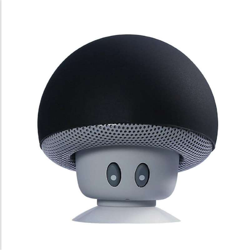 Waterproof Portable Wireless Mini Bluetooth Speaker New Music Loudspeaker Bass Mushroom Sports Travel Speaker For Iphone Xiaomi