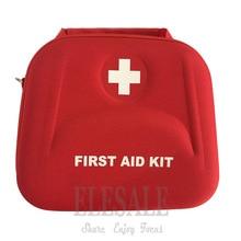 Portable First Aid Kit Bag Water Resistant Emergency Kit Bag Shoulder Strap For Hiking Travel Home Car Emergency Treatment