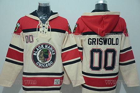 Clark Griswold Hoodies  00 Christmas Vacation Movie Hockey Jersey Mens  Stitched Throwback Hoodie Sports sweater Free Shipping c1f56dbcaa51