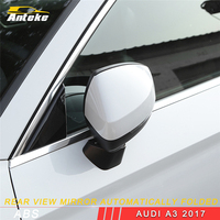 ANTEKE for Audi A3 2017 Car Styling Rearview Mirror Automatically Folded Exterior Accessories