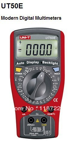 UNI-T UT58E DMM A/DC Modern Digital Multimeters UT58E Temperature Probe uni t ut60b modern auto ranging data hold dmm digital multimeters w capacitance