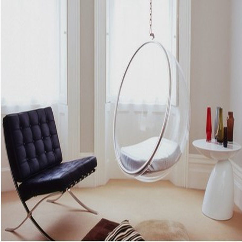 Space Chair Bubble Chair Indoor Swing Chair Space Sofa Transparent Sofa Hanging Bubble Chair Acrylic Material Transparent Color Sofa Sofa Colorful Sofassofa Material Aliexpress