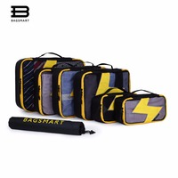 BAGSMART 7 Pcs Set Packing Cubes Travel Organizers With Laundry Bag