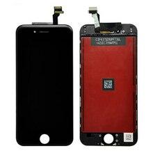 Pour iphone 6 lcd 6 plus ecran lcd avec écran tactile digitizer assemblée noir et blanc livraison gratuite
