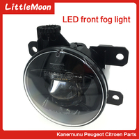 LittleMoon Original front fog lamp assembly LED super bright For Peugeot207 508 307 407 607 3008 301 2008 C3 C4 Triumph C qutare
