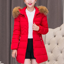 Winter Jacket Women Fashion Down and Parkas Jacket Women Korean Woman Jackets Fur Hooded Woman Thick Long Parkas Coats Plus Size стоимость