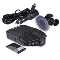 270 Degrees Whirl Dash Cam LED IR Light Vehicle Road Dash Video Recorder Black 1 4