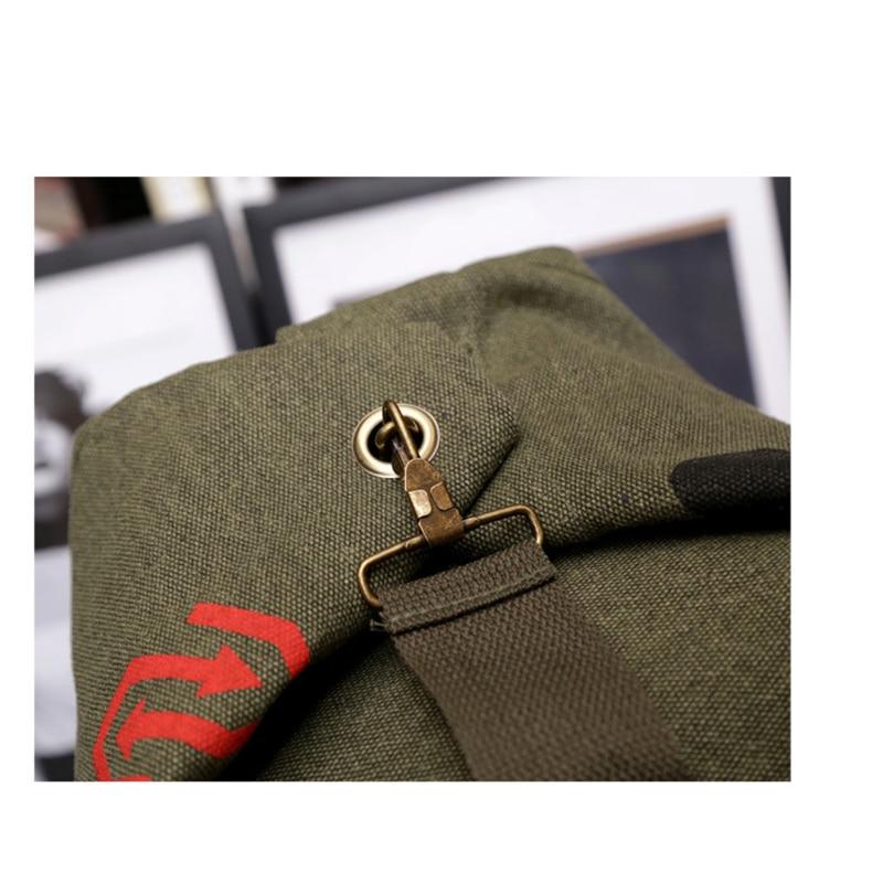 3 boje nove modne platnene pantalone casual torba muški vojni ruksak - Ruksaci - Foto 5