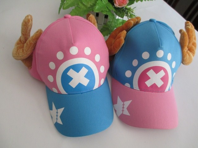 Cartoon Hip-hop hat / cap with Japanese Anime Cosplay ONE PIECE Tony Tony Chopper embroidery brand