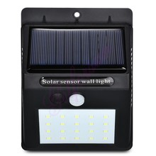 2-10pcs 30 LED Solar Power Garden Light Outdoor PIR Motion Sensor Wall Emergency Security Lamp street wall spo