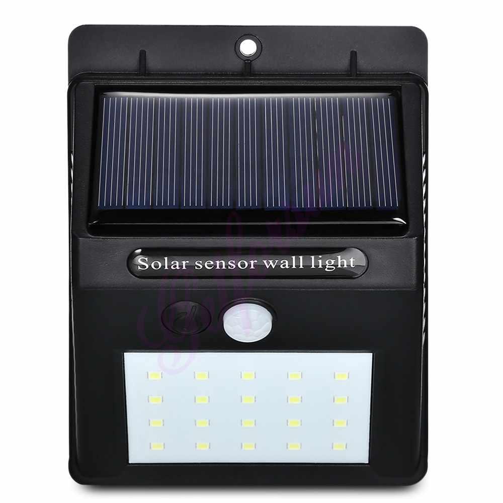 30/ LED Solar Power Light PIR Motion Sensor 1/2/4pcs Solar Wall Lamp Outdoor Waterproof Energy Saving Garden Yard Lamps street w