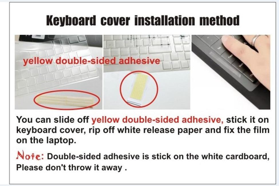 Clear Tpu Keyboard Cover үшін Dell Latitude 7490 7480 E7450 E7470 - Ноутбуктердің аксессуарлары - фото 4