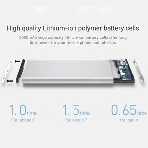 Image 3 - Xiaomi güç kaynağı 5000mAh 2 PLM10ZM taşınabilir şarj cihazı ince xiaomi güç bankası 5000 ı ı ı ı ı ı ı ı ı ı ı ı ı ı ı ı ı ı ı ı polimer harici pil ile silikon kılıf