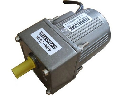 цена на AC 220V 15W Single phase regulated speed motor with gearbox. AC gear motor,