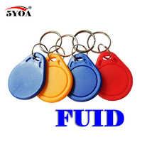 Etiqueta FUID de una sola vez, bloque cambiable 0 escribible, 13,56 Mhz, RFID, mandos de proximidad, copia de llave, 5 unids/lote