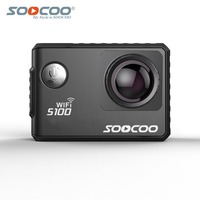 Free shipping SOOCOO S100 4K Sport Action Video Camera 4K Wifi HD Waterproof With GPS Extension Action Sport Camera For Outdoor
