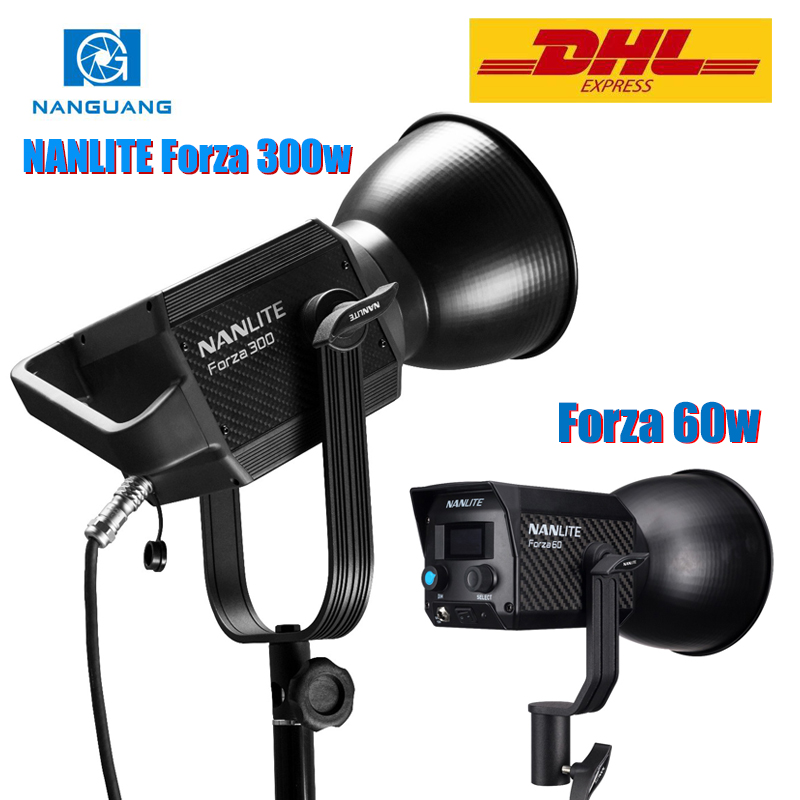 NanGuang NANLITE Forza 300w 60w LED Photographic Lighting Fill Light Spotlight 5600K 2.4G Wireless APP WIFI Control Forza300