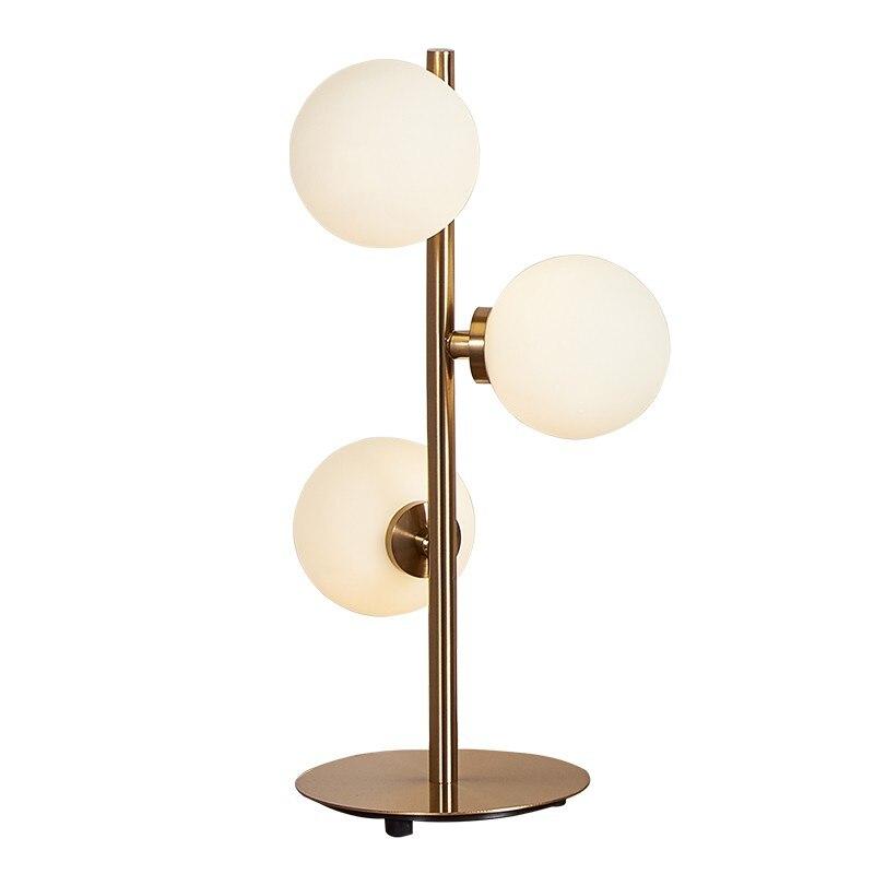 Новое поступление psot современный стиль дешевые настольная лампа освещение спальни детская комната Кабинет Настольная лампа три головы сте...