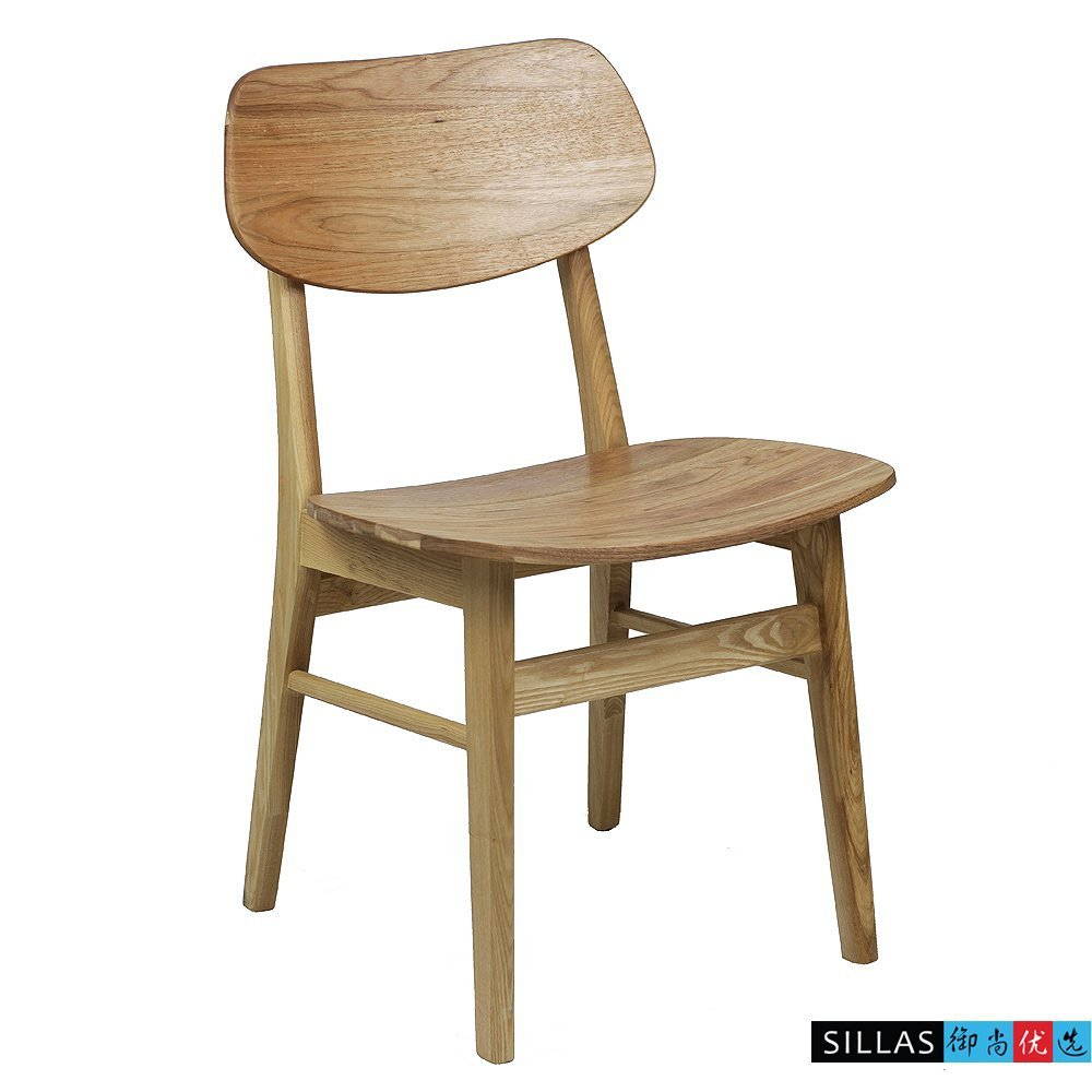 Modern wooden cafe chairs -  Simple Wooden Chair