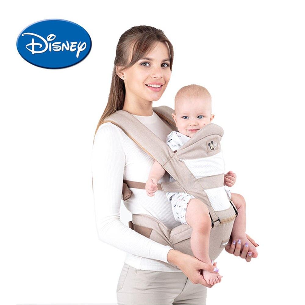 Disney дышащий эргономичный рюкзак-кенгуру Портативный младенческой Кенгуру Hipseat кучи с сосет Pad слинг носители