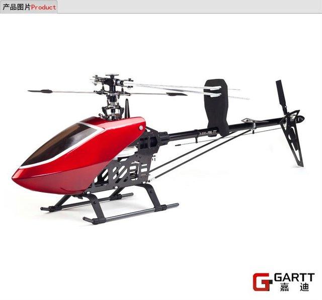 GT550 GT PRO 2.4 GHz 3D Helicóptero de Transmisión por Correa 100% compat Align Trex 550