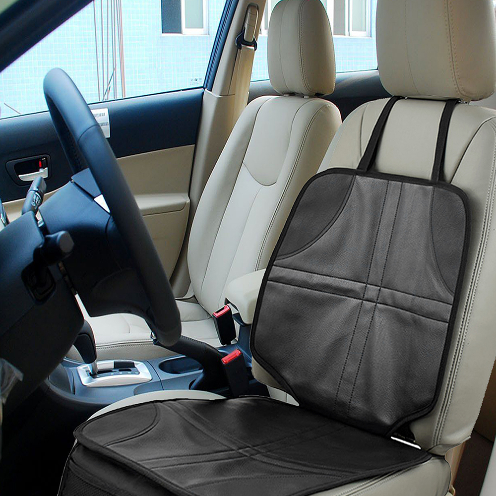 Onever Leather Car Seat Protector Child or Baby Car Seat Cover Easy