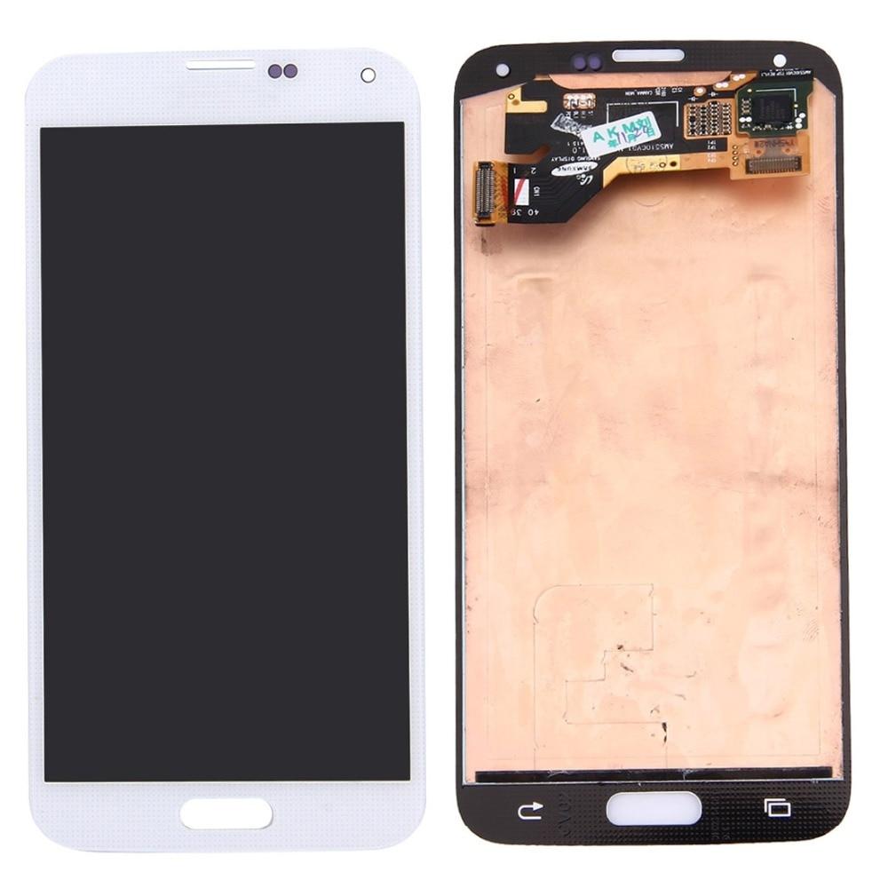 Original LCD Screen and Digitizer Full Assembly for Galaxy S5 / G9006V / G900F / G900A / G900I / G900M / G900VOriginal LCD Screen and Digitizer Full Assembly for Galaxy S5 / G9006V / G900F / G900A / G900I / G900M / G900V