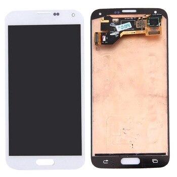 Original LCD Screen and Digitizer Full Assembly for Galaxy S5 / G9006V / G900F / G900A / G900I / G900M / G900V